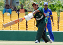Tithy Sarkar stretches out to play a shot, Dambulla, Women's Asia Cup, May 5, 2008