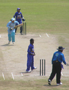 Asha Rawat picks up a quick single on her way to 97, Sri Lanka Women v India Women, Women's Asia Cup final, Kurunagela, May 11, 2008