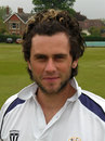 A portrait of the Loughborough cricketer, Jonathan Hughes, May 2008