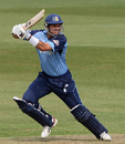 Steve Stubbings carried his bat for 95, Derbyshire v Lancashire, Friends Provident Trophy, Derby, May 22, 2008