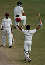 Ramnaresh Sarwan and Shivnarine Chanderpaul added 143 together, West Indies v Australia, 2nd Test, Antigua, June 3, 2008