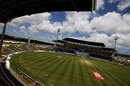 An overview of the Sir Vivian Richards Stadium, West Indies v Australia, 2nd Test, Antigua, June 3, 2008