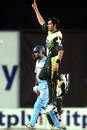 Umar Gul is in high spirits after removing Yuvraj Singh for 55