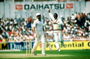 Malcolm Marshall takes the wicket of Imran Khan, World Cup 1983 semi-final
