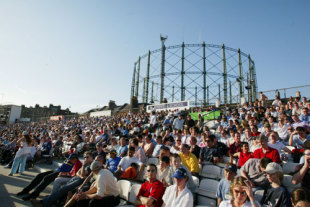 Packing them in at The Oval for the first night of Twenty20, Surrey v Middlesex, The Oval, June 13, 2003