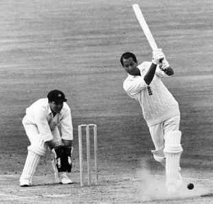Basil D'Oliveira drives on his way to 158, England v Australia, 5th Test,  The Oval, August 23, 1968