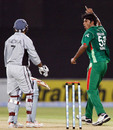 Shahadat Hossain trapped Indika Batuwitarachchi in front, Bangladesh v UAE, Group A, Asia Cup, Lahore, June 24, 2008