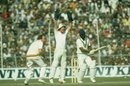 Bob Taylor appeals for an lbw verdict against Syed Kirmani, India v England, 4th Test, Calcutta, 3rd day, January 3, 1982