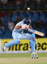 Yuvraj Singh ducks a bouncer, India v Sri Lanka, Super Four, Asia Cup, Karachi, July 3, 2008