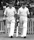 Don Bradman and Stan McCabe