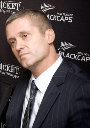 Justin Vaughan, New Zealand cricket's chief executive