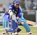 Sanath Jayasuriya plays the sweep, India v Sri Lanka, Asia Cup final, Karachi, July 6, 2008