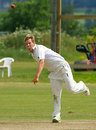 Ross Lyons twirls his way to 3 for 6, Canada v Scotland, Intercontinental Cup, King City, July 17, 2008
