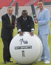 David Lloyd, Richie Richardson and Kevin Pietersen, Stanford announcement, Rose Bowl, July 25, 2008