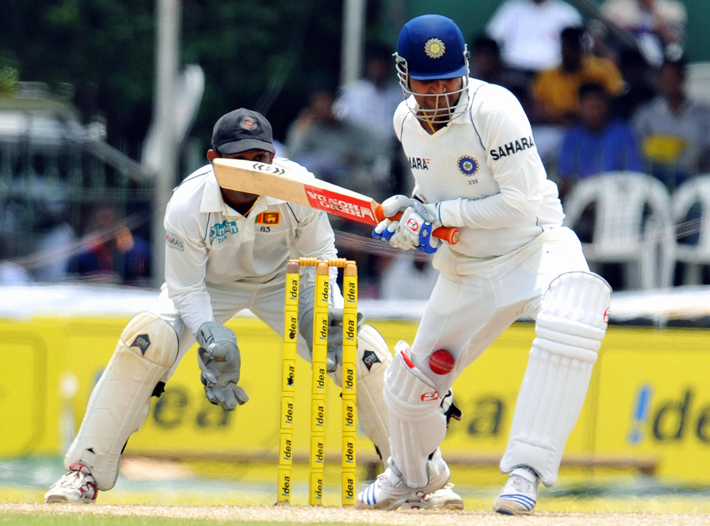 No. 1: the Sehwag lbw in 2008 that became the first decision overturned under the UDRS (as the system was called then)