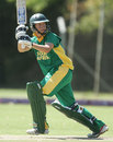 Olivia Anderson plays behind the wicket, ICC women's World Cup qualifiers, Stellenbosch, February 18, 2008