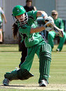 Cecelia Joyce in action , Ireland v ECB Academy, Crowthorne