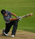 Greg Morgan clatters one of his three fours, England Under-19s v New Zealand Under-19s, 4th ODI, Northampton, August 14, 2008