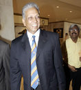 Mohinder Amarnath arrives for interviews aimed at naming India's coach