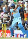 S Badrinath drives on the up
