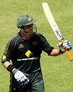 Michael Hussey deserved his half-century - and Australia needed it