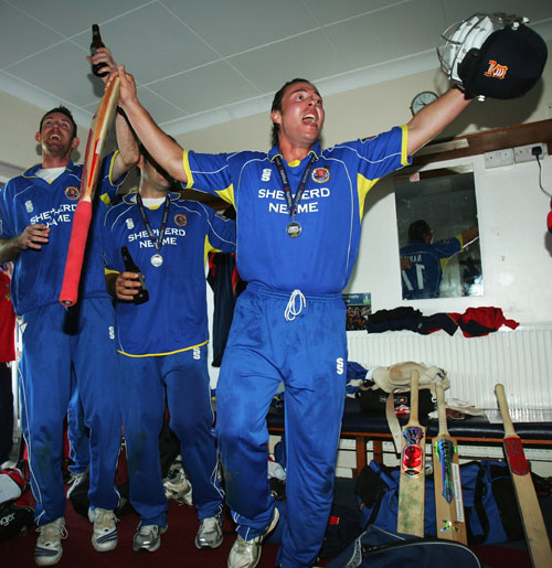 Graham Napier leads the celebrations