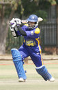 Kanchana Gunawardene drives down the ground during his 90, University Sports South Africa XI v Sri Lanka A, tour match, Pretoria, September 17, 2008