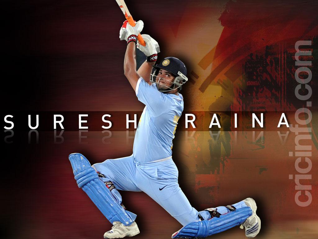 Indian cricket player suresh raina