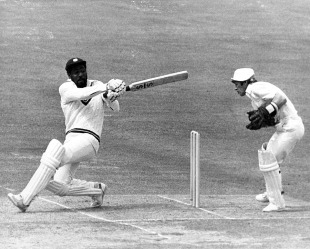 Viv Richards treated the England attack as if they were a bunch of net bowlers