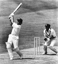 Alan Turner hits a six, Australia v Sri Lanka, World Cup, The Oval, June 11, 1975
