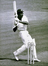 Clive Lloyd pulls on his way to a century