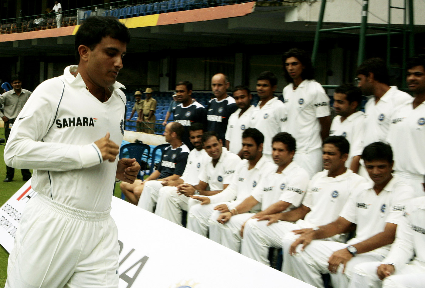 Sourav Ganguly marched to his own tune