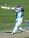 Grant Lambert pulls during his unbeaten 48, Western Australia v New South Wales, FR Cup, Perth, October 8, 2008