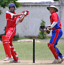 Skhawat Ali's 119-run partnership with Butt Hussain won the match for Hong Kong against Jersey, ICC WCL Div 4 - 10.10.2008