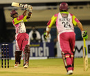 G Vignesh aims for maximum, Chennai Superstars v Dhaka Warriors, 2nd match, ICL, Hyderabad, October 11, 2008