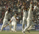 Sachin Tendulkar nails Adam Gilchrist lbw, India v Australia, 2nd Test, Eden Gardens, 5th day, March 15, 2001