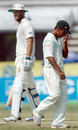 Mohammad Ashraful feels the frustration as Daniel Vettori takes New Zealand closer to their target