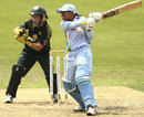 Reema Malhotra plays a powerful shot through the off side, Australia v India, 1st Women's ODI, Sydney, 31 October, 2008