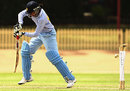 Anjum Chopra is bowled for 33, Australia v India, 1st Women's ODI, Sydney, 31 October, 2008