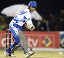 Abbas Ali scored 53 for Delhi Giants, Delhi Giants v Hyderabad Heroes, ICL, Panchkula, November 1, 2008