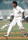 Sairaj Bahutule has a hit at the nets , Mumbai, November 2, 2008
