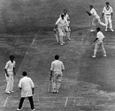 John Price is caught by Abid Ali off Srinivas Venkataraghavan for a duck, England v India, 1st Test, Lord's, 5th day, July 27, 1971