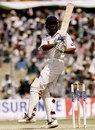 VVS Laxman pulls behind the wicket, India v Australia, 2nd Test, Calcutta, March 19, 2008