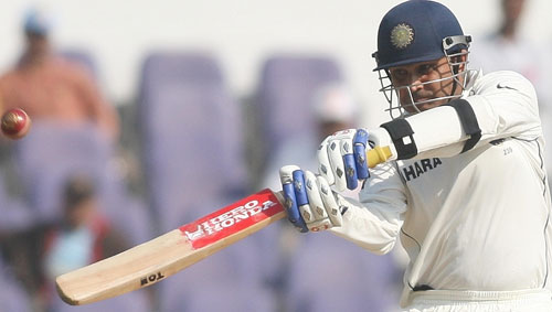 Virender Sehwag came out all guns blazing
