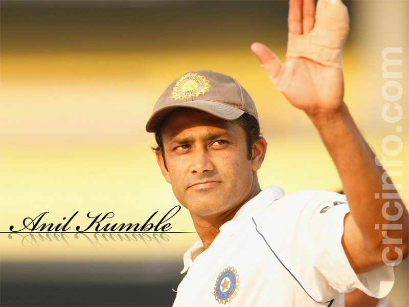 Anil Kumble Cricket Wallpapers Espncricinfocom