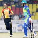 Johan van der Wath dismissed Abul Razzaq off the first ball, Hyderabad Heroes v Mumbai Champs, ICL, Panchkula, November 6, 2008
