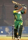 Inzamam-ul-Haq stands and delivers
