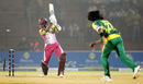 G Vignesh is bowled by Mohammad Sami, Chennai Superstars v Lahore Badshahs, ICL , Ahmedabad, November 10, 2008