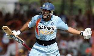 Yuvraj Singh doesn't worry about letting emotion run riot, India v England, 1st ODI, Rajkot, November 14, 2008