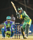 Shahid Yousuf top scored for Lahore with 51, Hyderabad Heroes v Lahore Badshahs, ICL 2nd final, Ahmedabad, November 15, 2008